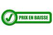 Checkbox grün rel PRIX EN BAISSE