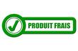 Checkbox grün PRODUIT FRAIS