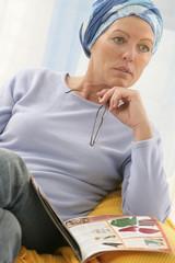 Femme en convalescence