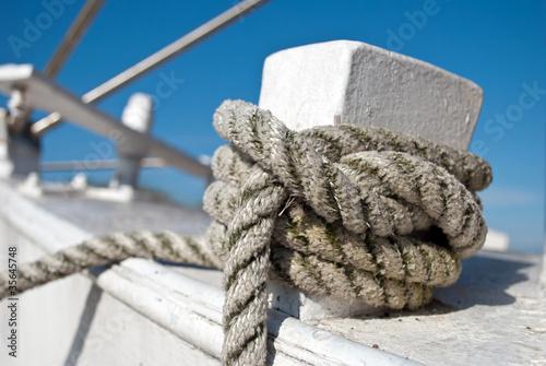 Knoten am Schiff © UsedomCards.de