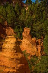 sentiero delle ocre a Roussillon,Valchiusa