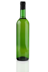 A bottle of white wine.