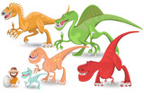 Carnivorous Dinosaurs Collection Set poster