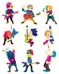 Cartoon Heavy Metal rock music band