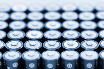 Batteries in array