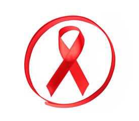 aids hiv awareness ribbon