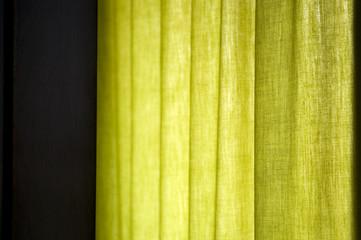 green window light