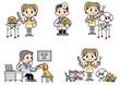 Veterinarian&Dog groomer
