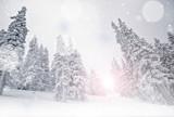 Fototapete Winter - Landschaft - Mittelgebirge