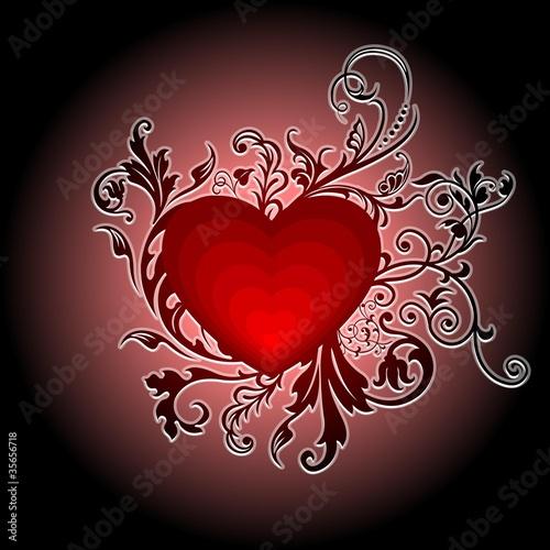Kwitnące serce