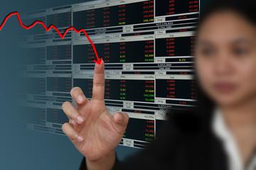 business regression graph