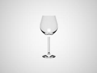 3D Copa vino