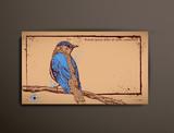 Business/Calling/Visiting Chipboard Card. Bird poster