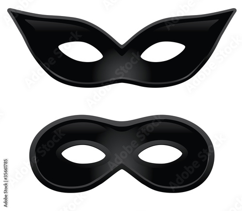 His and Hers black masks