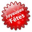 Tampon JOYEUSES FETES (joyeux noël bonne année meilleurs voeux)