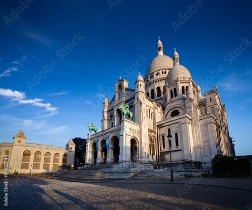 Basilique Sacré Coeur Montmartre Paris France