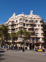 La Pedrera in Barcelona, Spain.