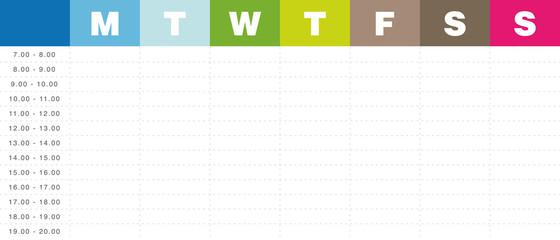Planner week