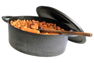 La cocotte de cassoulet