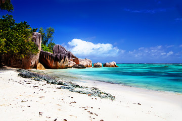 One of the best beaches in the world Anse Source d'Argent
