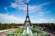 Leinwanddruck Bild - Tour Eiffel Paris France