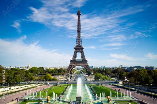 Leinwanddruck Bild Tour Eiffel Paris France