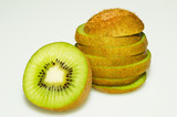 Slice kiwifruit