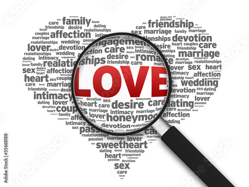 Magnifying Glass - Love