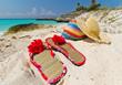 Holidays at the Caribbean beach