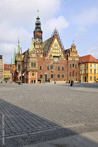 City Hall in Wroclaw (Poland) © jurewicz