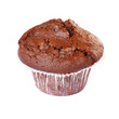 Muffin cup isolated