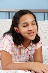 Girl In Bed Singing