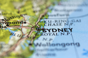 Sydney on the Map