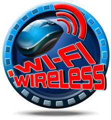 Wireless concept icon