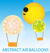 abstract air balloons