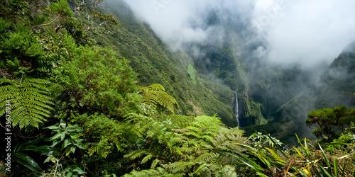Poster Le Trou de Fer - Ile de La Réunion