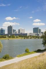 Skyline Wien - Donauinsel