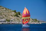 barca a vela alle isole Kornati - Croazia - Fine Art prints