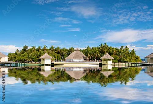 Fototapeten,resort,maldives,bunen,insel