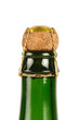 bouchon d'une bouteille de cidre Normand