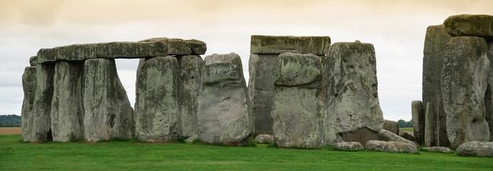 panoramica del sito archeologico di Stonehenge