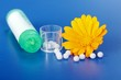 Calendula Officinalis and homeopathic pills