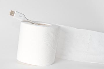 carta igienica connessione usb