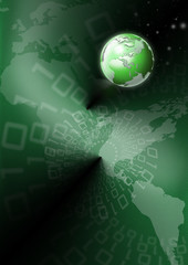 Green global communications