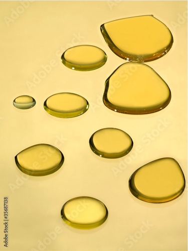 drops of oil
