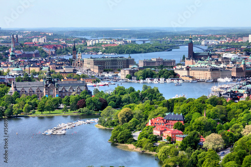 Staande foto Scandinavië Stockholm