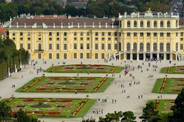 Face au Palais de Schonbrunn dans Vienne