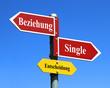 Beziehung oder Single