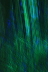 Blue & Green abstract