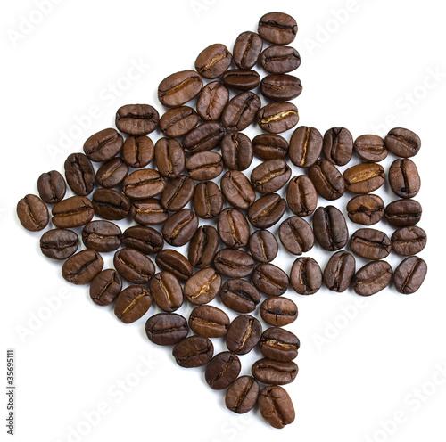 Фото: Указатель кофе.